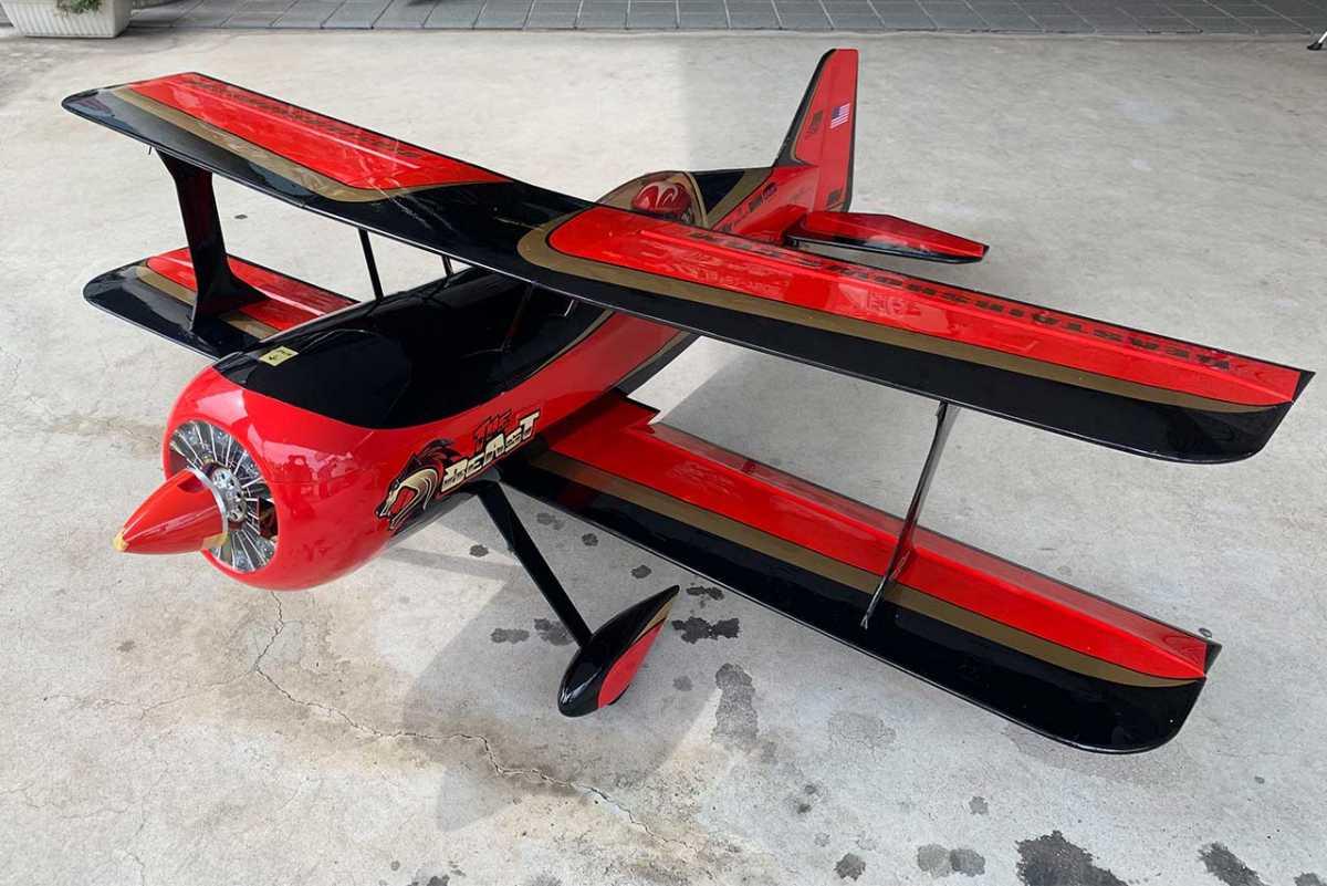 【中古販売】 ホライゾンホビー Beast 60e ARF 57