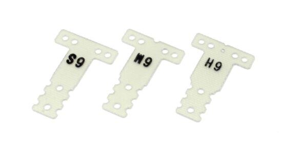 京商 FRPリヤサスプレートセット (0.6/MR03RM/HM用) MZW438