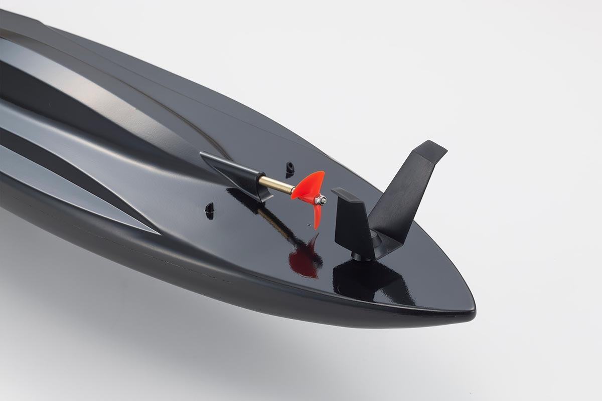 京商 1/5スケール EPファンモデル RCサーファー レディセット ブラック 40110T2