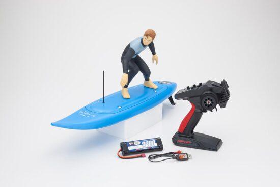 京商 1/5スケール EPファンモデル RCサーファー レディセット ブルー 40110T1