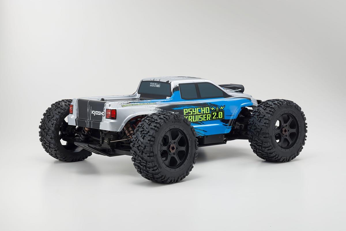 京商 1/8スケール ブラシレスパワード 4WDモンスタートラック サイコクルーザー VE 2.0 レディセット KT-231P+付 34256