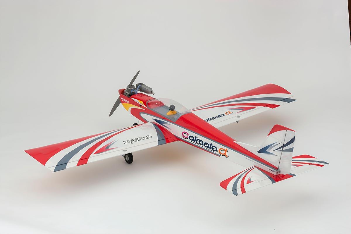 京商 40クラス スポーツ カルマート アルファ 40 スポーツ EP/GP タフロン仕様 レッド 11257R