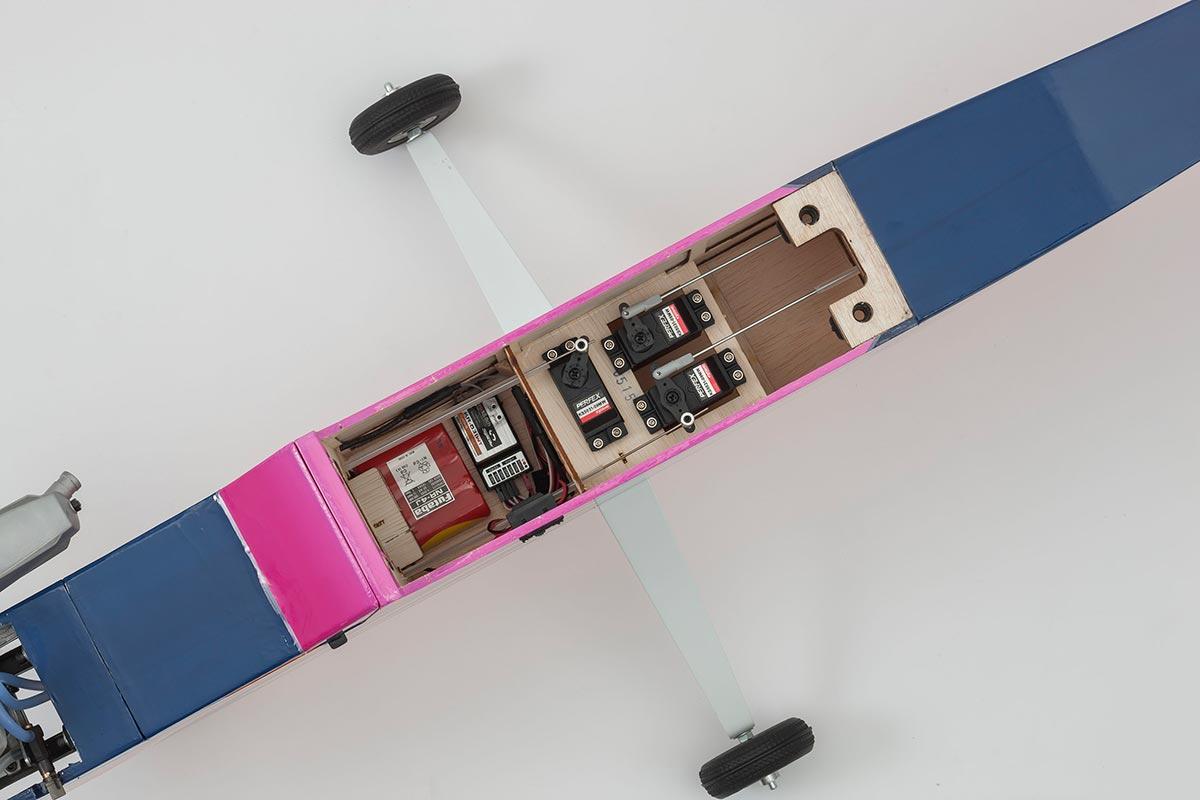 京商 40クラス トレーナー カルマート アルファ 40 トレーナー ARF  EP/GP タフロン仕様 パープル 11252P