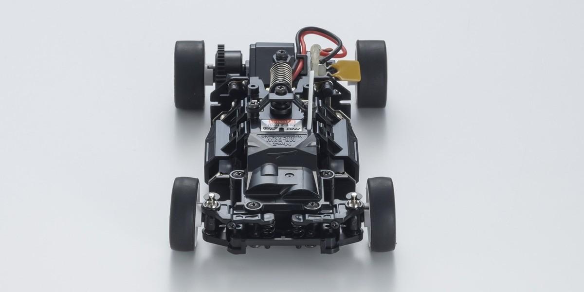 ミニッツRWDシリーズ レディセット シボレー コルベット ZR1 シャドーグレーメタリック LEDライトユニット付 32334GM