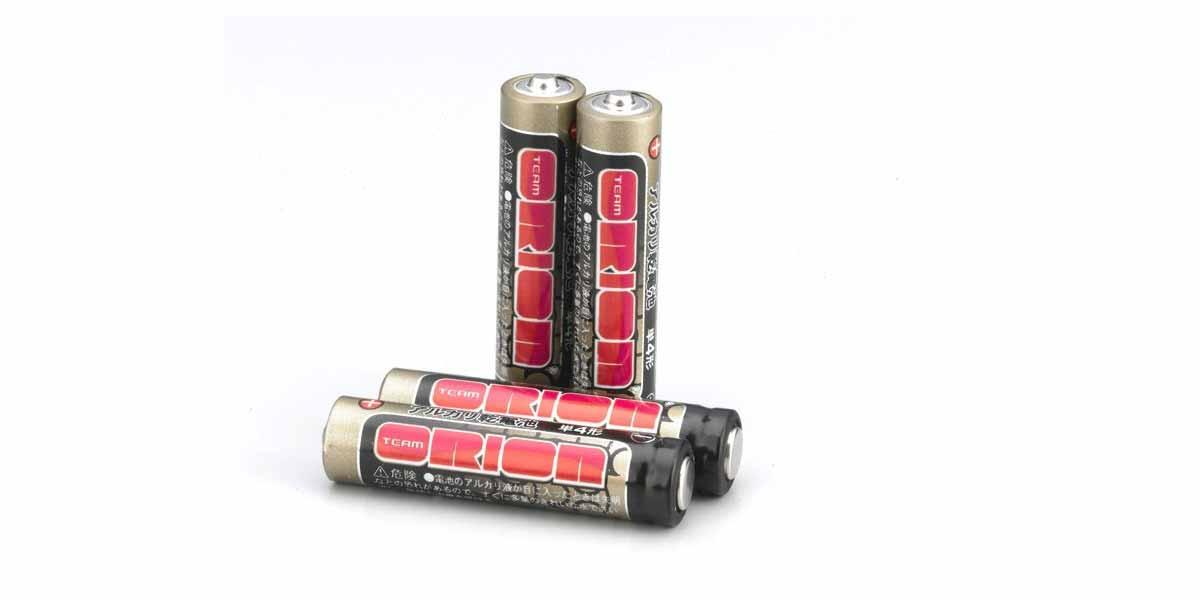 ティームオリオン 単4 アルカリ乾電池 ORI13601