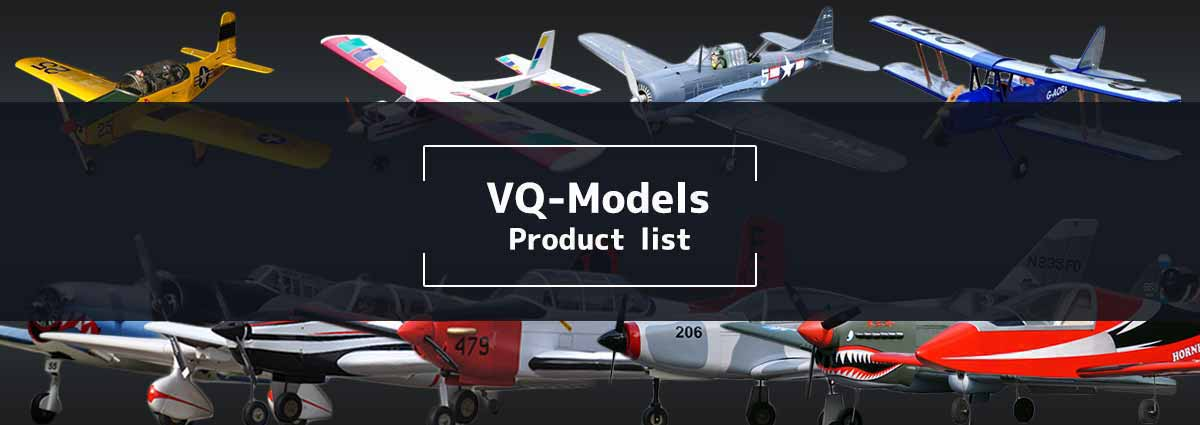 VQモデル ラジコン飛行機