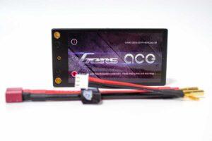 Gens ace 3200mAh 7.4V 60C 2S1P Lipoバッテリー Deans plug ハードケース