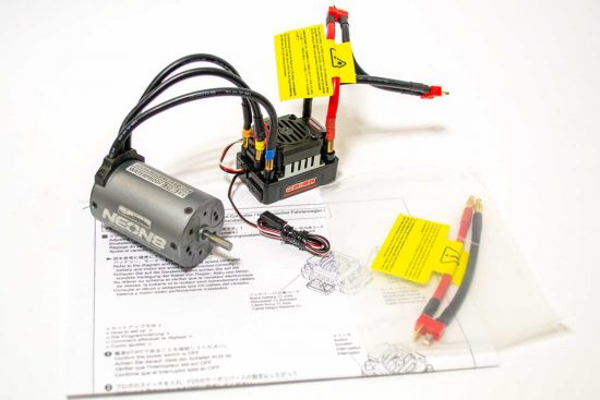 【中古販売】 京商 モーターアンプセット 1/8スケール用 未使用