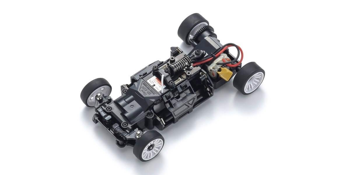 ミニッツRWDシリーズ レディセット McLaren P1™ GTR ホワイト/レッド 32324WR