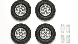 タミヤ OP.1742 GF-01 クロスカントリータイヤ&スプリング セット 54742