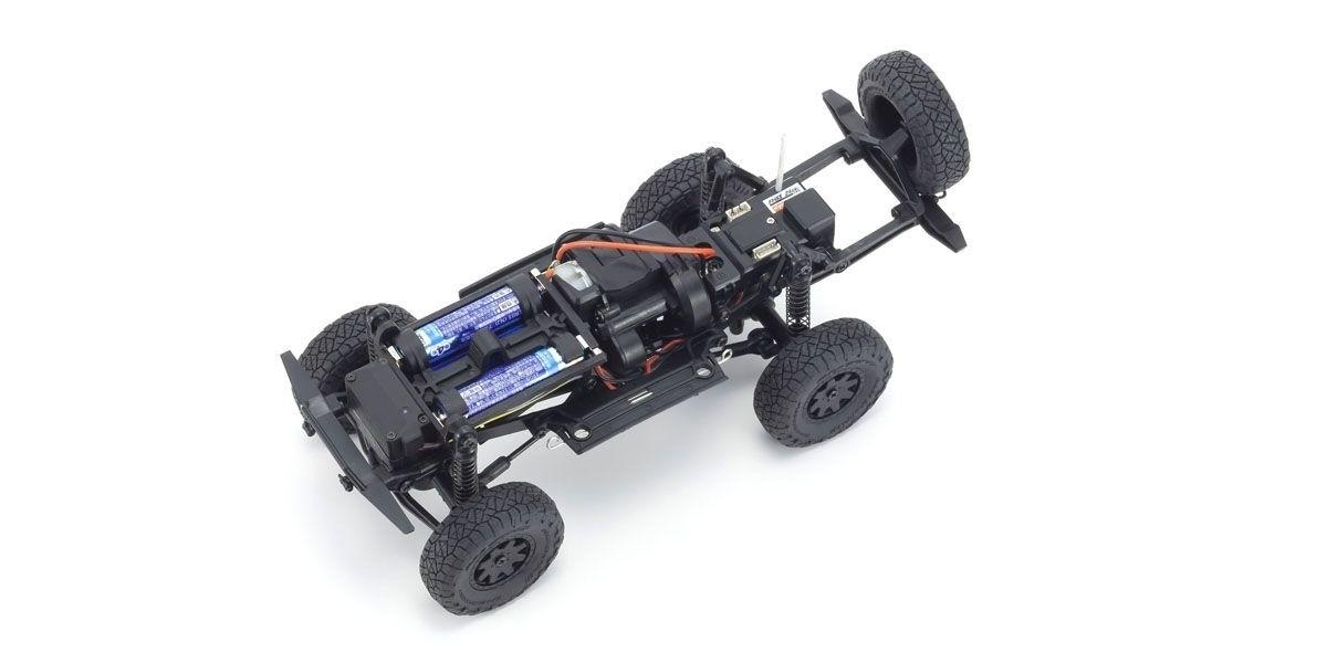 京商 電動 クローリングカー ミニッツ4×4シリーズ レディセット トヨタ 4ランナー(ハイラックスサーフ) メタリックレッド 32522MR