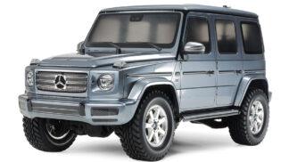 タミヤ 1/10RC メルセデス・ベンツ G 500 塗装済みブライトガンメタルボディ (CC-02シャーシ) 47441