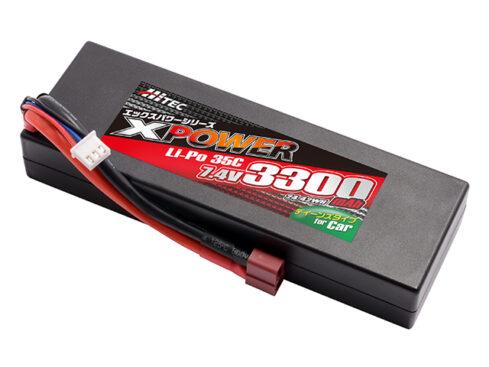 ハイテック XPOWER [エックスパワー] Li-Po 7.4V 3300mAh 35C(for Car) XP90169