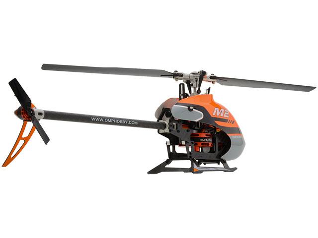 ハイテック デュアルブラシレスダイレクト3D ヘリコプター OMPHOBBY M2 OMPM2-OR