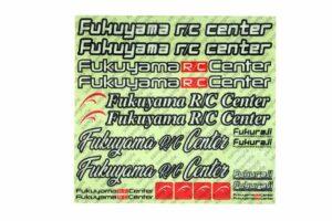 福山ラジコンセンター オリジナルステッカー STC-FRC