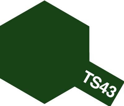 タミヤ TS-43 レーシンググリーン 85043