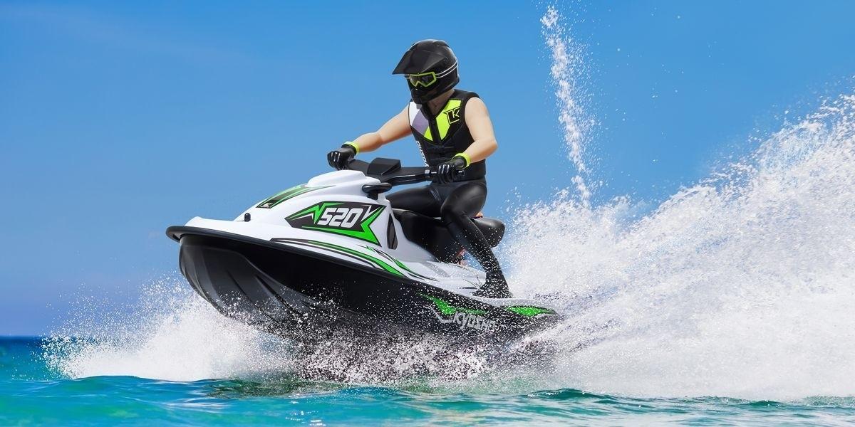 京商 1/6スケール 電動ラジオコントロール水上バイク ウエーブチョッパー 2.0 カラータイプ1 レディセット KT-231P+付 40211T1