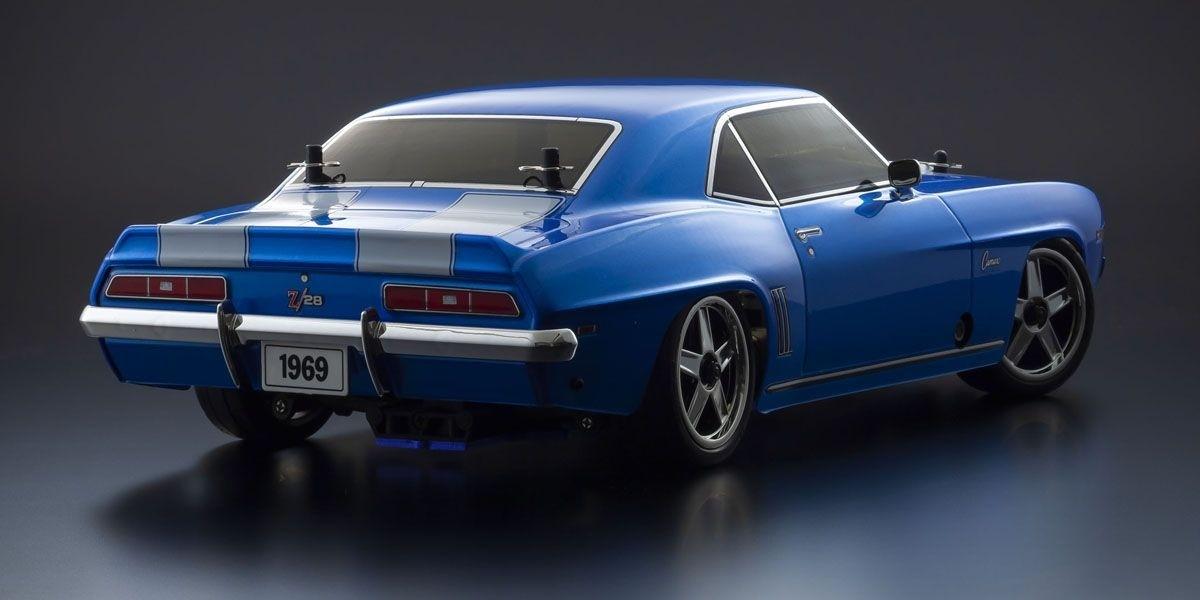 京商 ラジオコントロール 15 エンジン ツーリングカー シリーズ ピュアテン GP 4WD FW-06 レディセット 1969 シボレー カマロ Z/28 ル・マンブルー 33213
