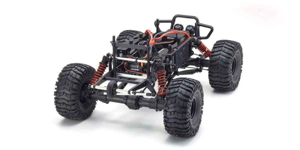 京商 1/8スケール ブラシレスモーターパワード 4WDモンスタートラック FO-XX VE 2.0 レディセット KT-231P+付 34255