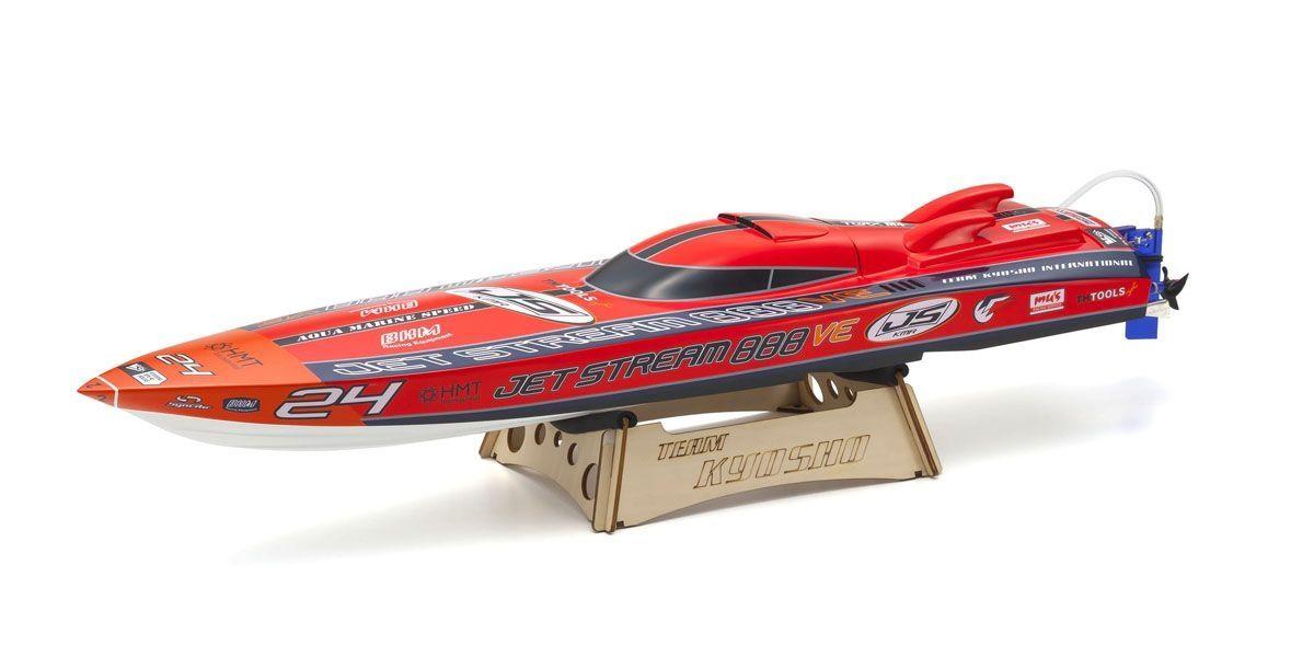 京商 電動レーシングボート ジェットストリーム888VE レディセット KT-231P+付 40232S2
