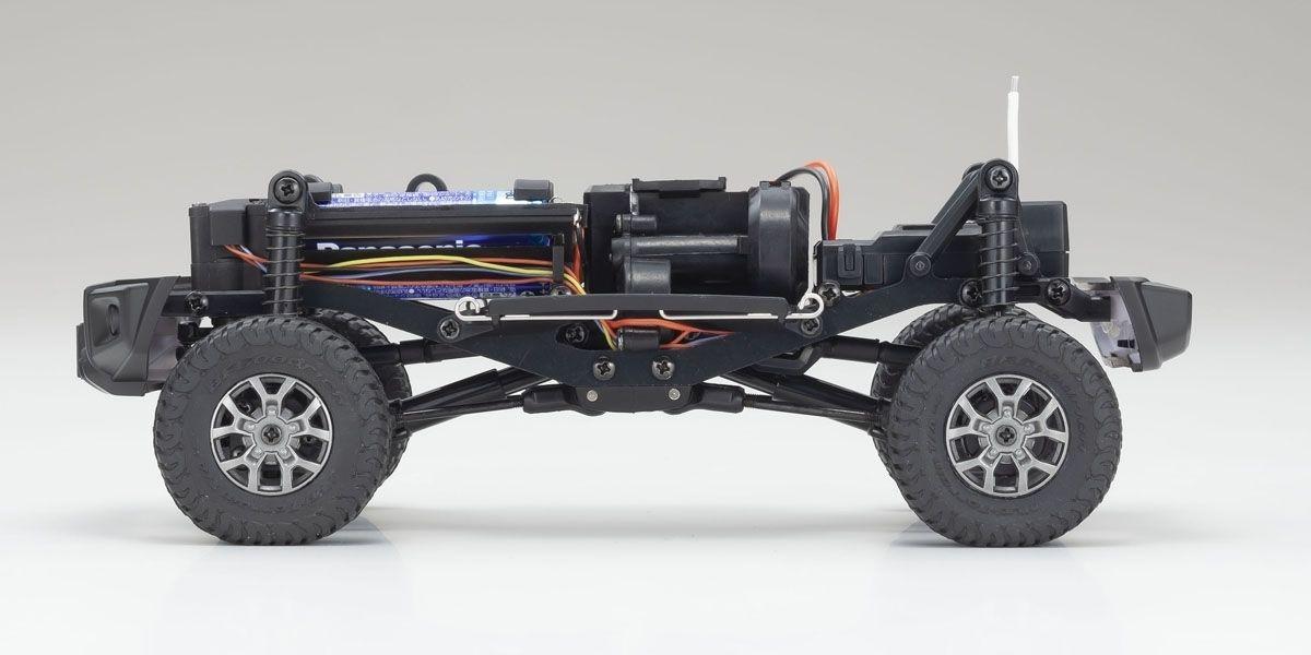 京商 ラジオコントロール 電動 クローリングカー ミニッツ4×4シリーズ レディセット スズキ ジムニーシエラ ブリスクブルーメタリック 32523MB