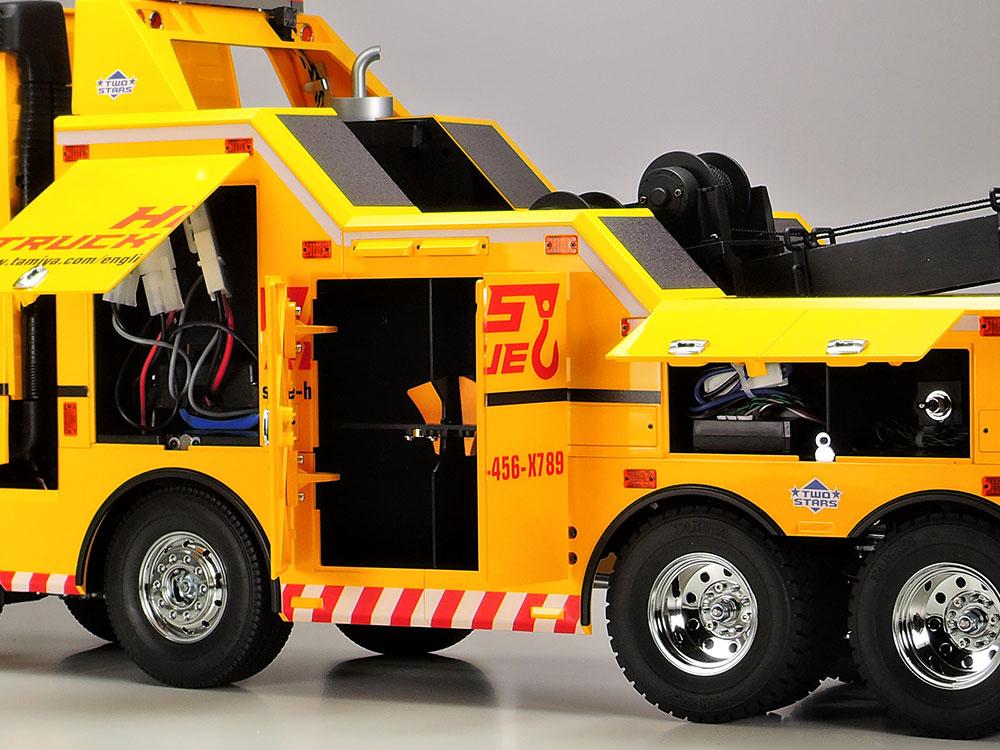 タミヤ 1/14RC ボルボ FH16 グローブトロッター 750 8x4 レッカートラック 56362
