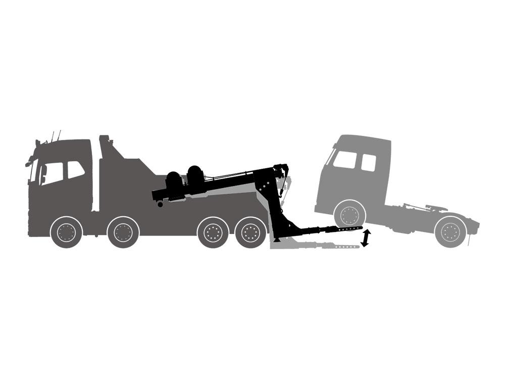 タミヤ TROP.53 1/14RCレッカートラック用電動アクチュエータセット 56553