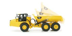 京商 1/24 RC CAT 建機シリーズ 745 Articulated Truck (アーティキュレート トラック:ダンプ) 56625