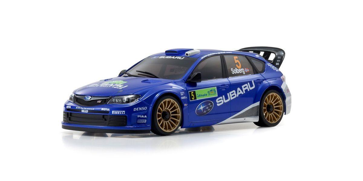 京商 ミニッツAWD スバル インプレッサ WRC 2008 レディセット 32614WR