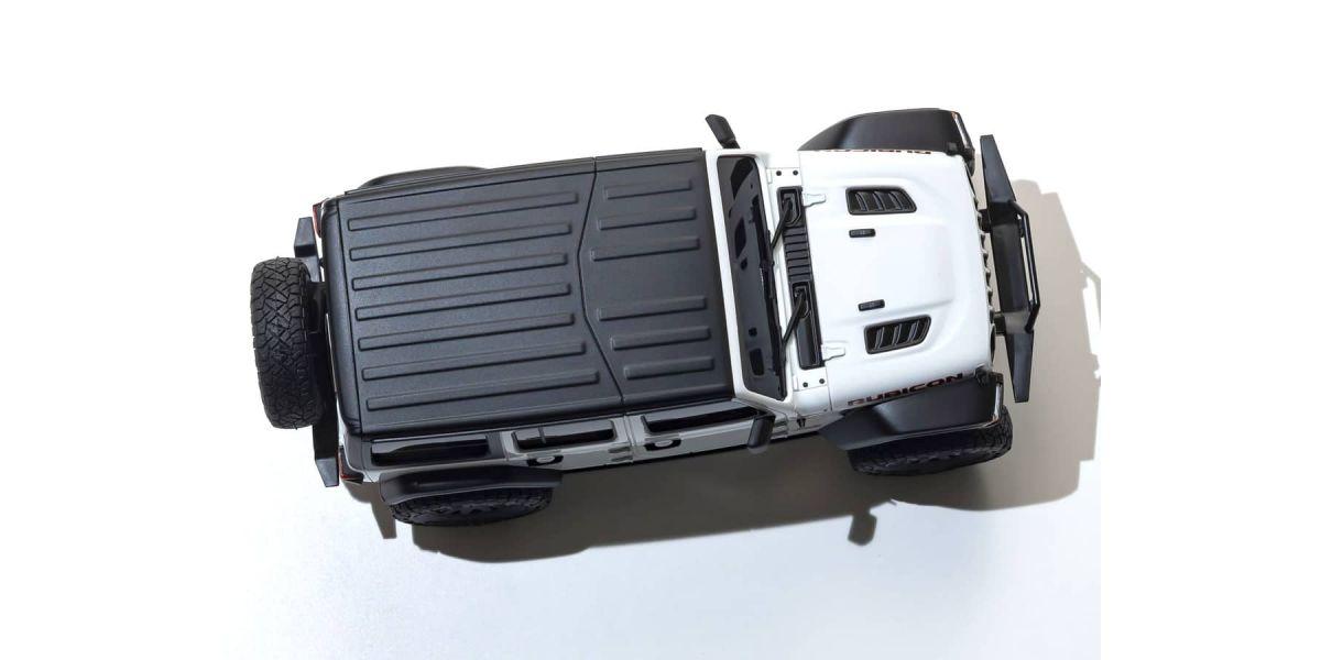 京商 ラジオコントロール 電動 クローリングカー ミニッツ4×4シリーズ レディセット ジープ ラングラー アンリミテッド ルビコン ブライトホワイト 32521W