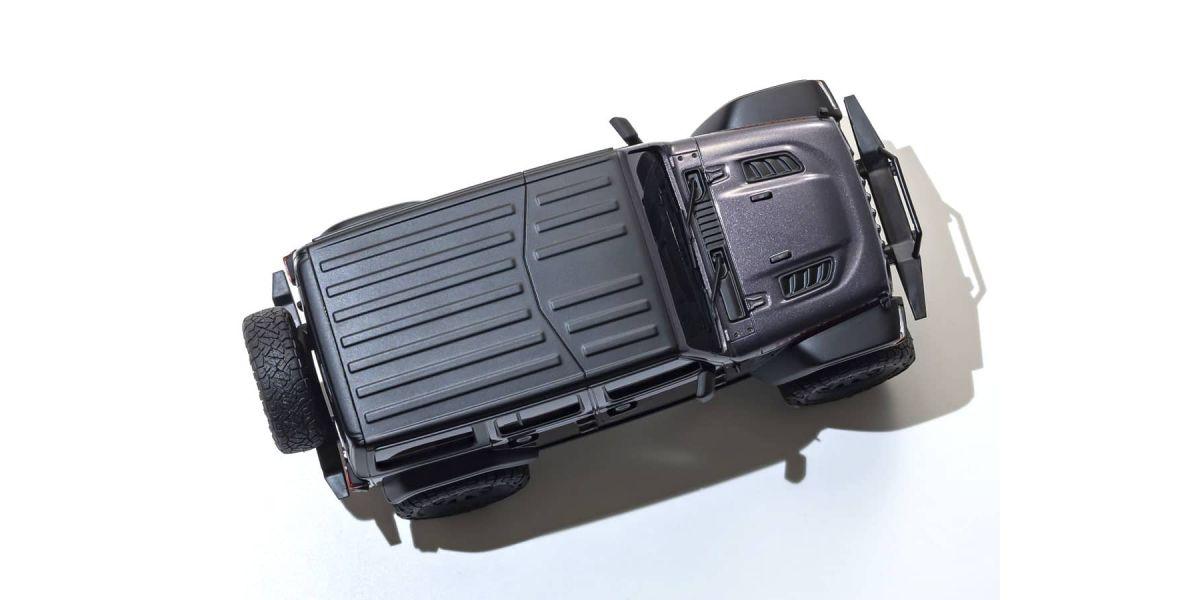 京商 ラジオコントロール 電動 クローリングカー ミニッツ4×4シリーズ レディセット ジープ ラングラー アンリミテッド ルビコン グラナイトクリスタルメタリック 32521GM