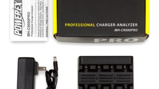 Powerex MH-C9000PRO Professional Charger-Analyzer MH-C9000PRO