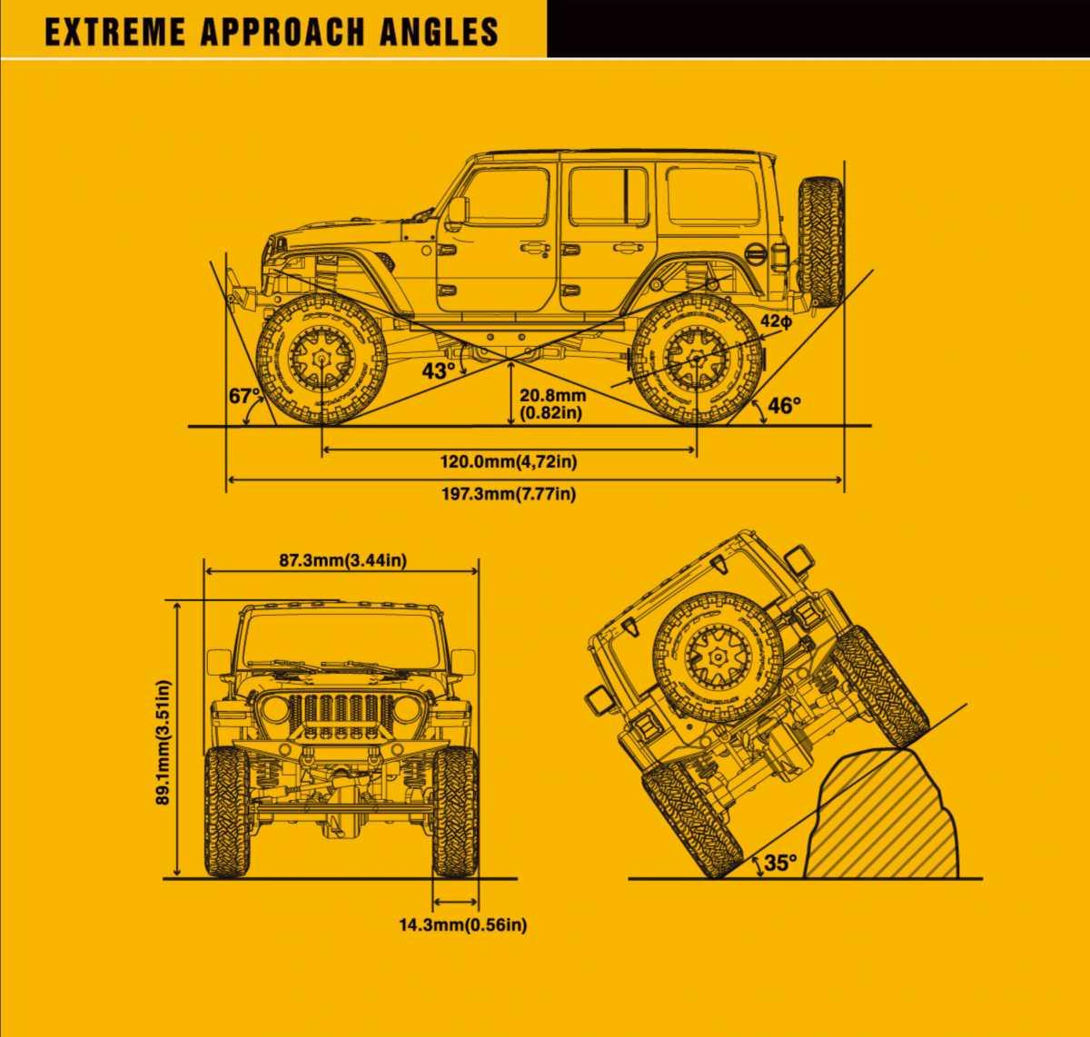 ミニッツ 4x4 ミニッツ4×4 レディセット ジープ ラングラー アンリミテッド ルビコン & ジムニー再入荷