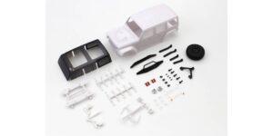 京商 ジープ ラングラー ルビコン ホワイトボディセット MXN01