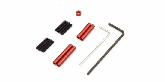 京商 アルミリンクロッドセット(ホイルベース110mm用) MXW001R