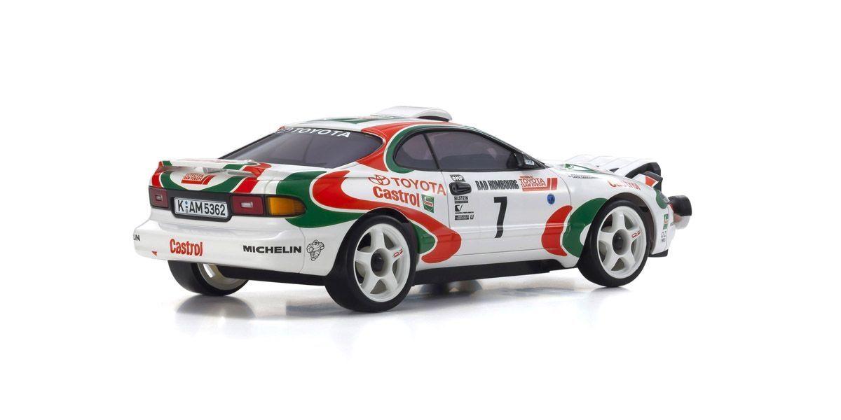 京商 ミニッツAWD トヨタ セリカ GT-Four RC No.7 WRC 1993 ユハ・カンクネン レディセット 32615JK