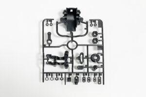 タミヤ TA07RR Aパーツ 黒(バルクヘッド)(カーボン入り)A3改(54743) 10008909