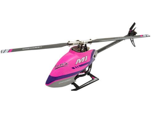 MPHOBBY M1 デュアルブラシレスダイレクト3D ヘリコプターM1 Dull Purple [M1 ダルパープル] M1-DUPL