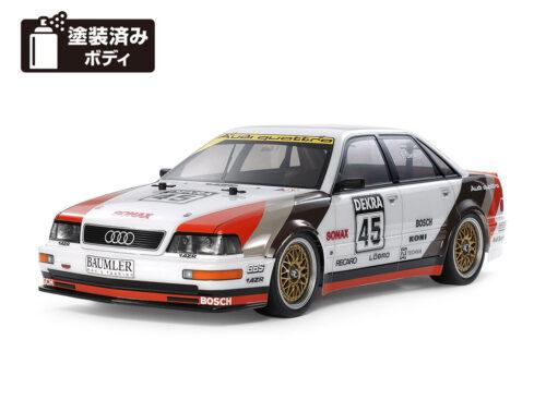 タミヤ 1/10RC 1991 アウディ V8 ツーリング (TT-02シャーシ)