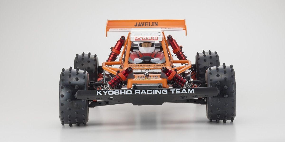 京商 1/10スケール 電動ラジオコントロール 4WDレーシングバギー ジャベリン 30618