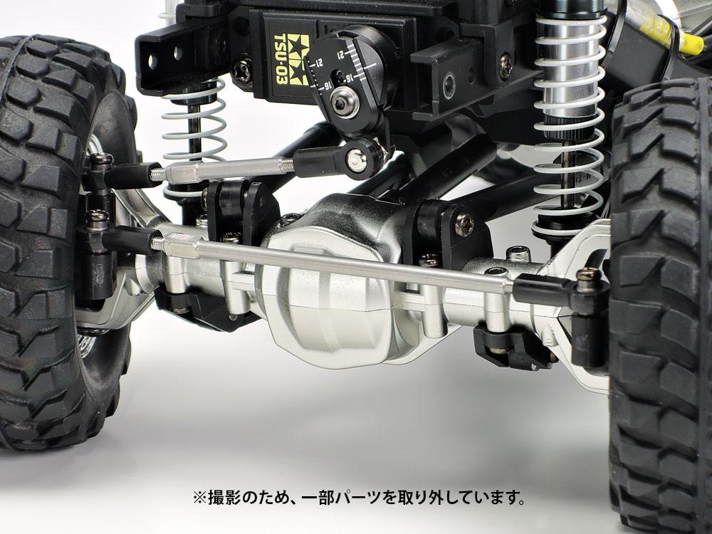タミヤ OP.1990 CC-02 B部品 (マットクロームメッキ) 54990