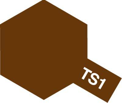タミヤ TS-1 レッドブラウン 85001