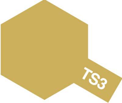 タミヤ TS-3 ダークイエロー 85003