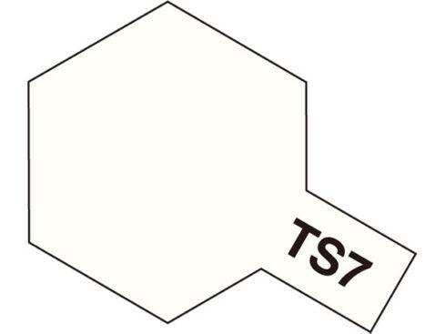 タミヤ TS-7 レーシングホワイト  85007