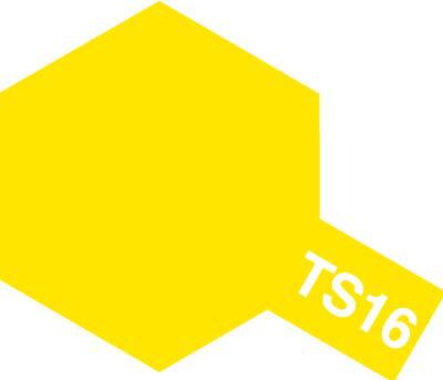 タミヤ TS-16 イエロー  85016