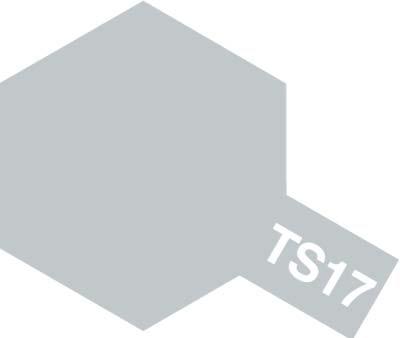 タミヤ TS-17 アルミシルバー  85017