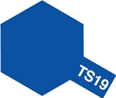 タミヤ TS-19 メタリックブルー  85019