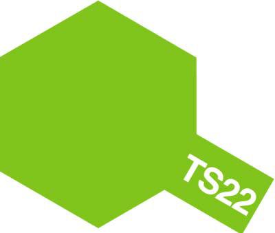 タミヤ TS-22 ライトグリーン  85022