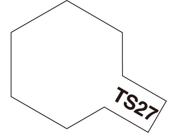 タミヤ TS-27 マットホワイト  85027