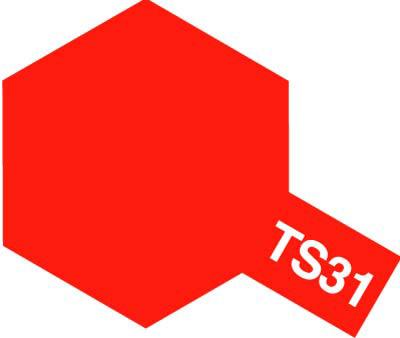 タミヤ TS-31 ブライトオレンジ  85031